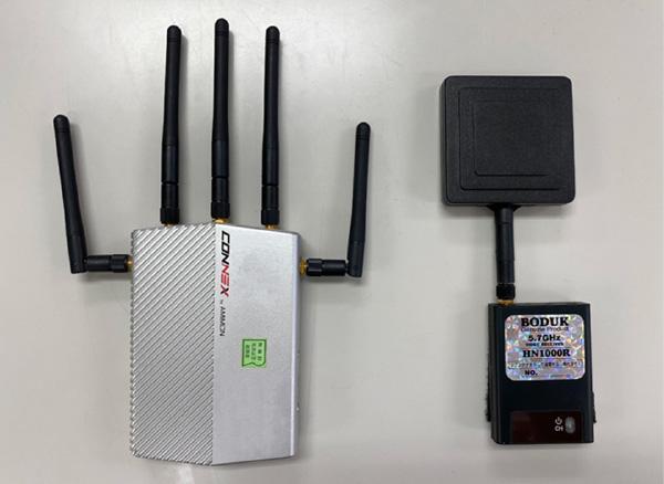 ドローン専用画像無線の装備と運用