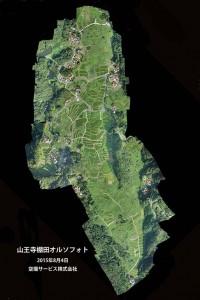 山王寺棚田オルソフォト1